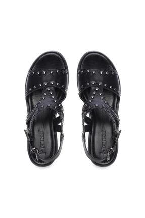 Kemal Tanca Kadın Derı Sandalet Sandalet 169 53080 Bn Sndlt 3