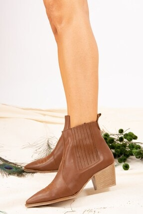 Fox Shoes Taba Kadın Bot J643233709 1