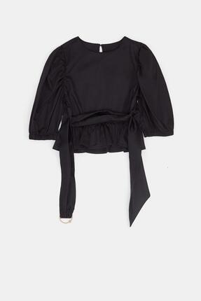 Tyess Kız Çocuk Siyah Bluz 20pfwtj4602 1
