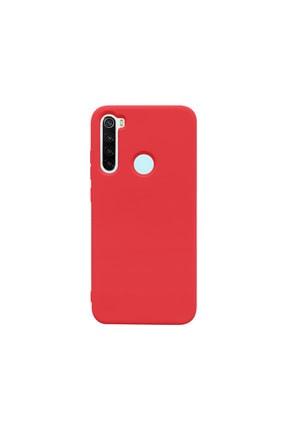 casemarkt Xiaomi Redmi Note 8 Uyumlu  Lansman Kırmızı Silikon Telefon Kılıfı Mikro Fiber Iç Yüzey 0