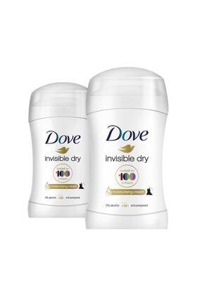 Dove Kadın Deodorant Stick Invisible 40 ml X2 0