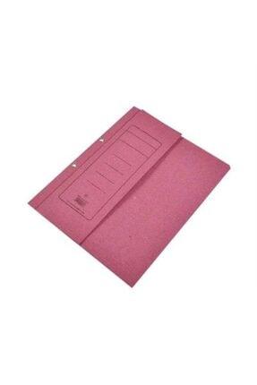 Alemdar Karton Dosya Yarım Kapak Pembe 50 Li (1 Paket 50 Adet) 0