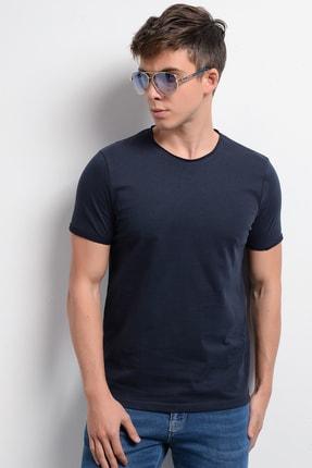Rodi Jeans Rodi Rd19ye279979 Lacivert Erkek Fırçalı Süprem Bisiklet Yaka T-shirt 2