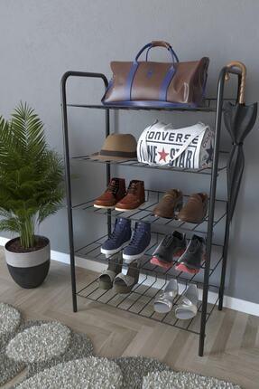 Evekip 5 Raflı Ayakkabılık Metal Ayakkabılık Çok Amaçlı Dolap 0