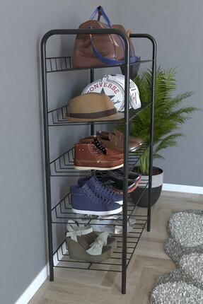 Evekip 5 Raflı Ayakkabılık Metal Ayakkabılık Çok Amaçlı Dolap 2