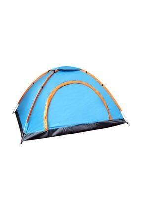 Gringo 3 Kişilik Kaliteli Kamp Çadırı 200x150x110 cm Çantalı Sineklik 0