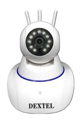 DEXTEL 360º Gerçek Hd Wifi Kablosuz 3 Antenli Ip Bebek Ve Güvenlik Kamerası 0