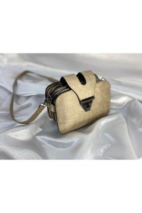 Krem Çapraz Çanta çapraz çanta