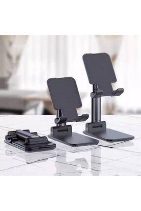 gaman Siyah Katlanabilir Masaüstü Tablet Ve Telefon Tutucu Stand 0