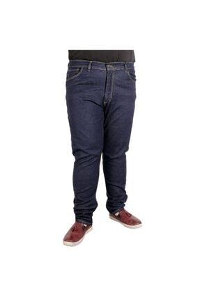 Modexl Büyük Beden Erkek Pantolon Kot 20903 Lacivert 0
