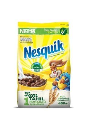 Nestle Nesquik Kakaolu Ve Buğdaylı Mısır Gevreği 450 gr 0