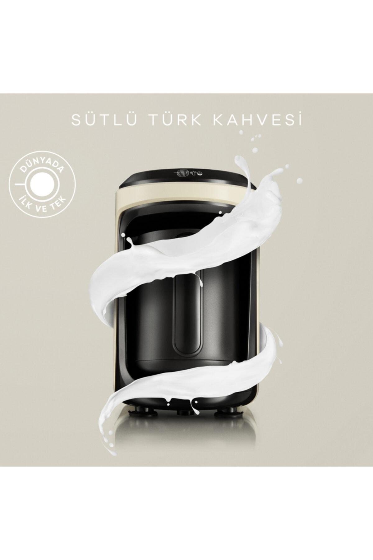 Hatır Hüps Sütlü Türk Kahve Makinesi Krem