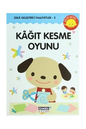 Çamlıca Çocuk Yayınları Kağıt Kesme Oyunu - Kazuo Kobayashi 0