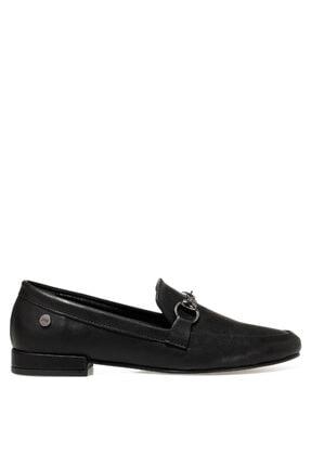 Nine West Suela2 Siyah Kadın Loafer Ayakkabı 0