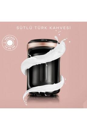 Karaca Hatır Hüps Sütlü Türk Kahve Makinesi Rosegold 0