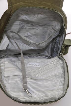 Smart Bags Kadın Koyu Yeşil Sırt Çantası Smbk1138-0029 3