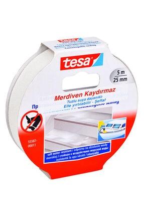 Tesa Merdiven Kaydırmaz Bant Tuzlu Suya Dayanıklı 25mm X 5mt Şeffaf 55587-00011-11 0