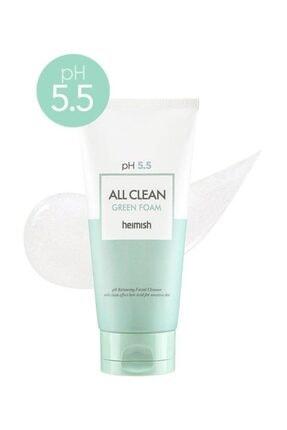 Heimish All Clean Green Foam - Ph 5,5 Değerinde Hassas Ciltlere Için Temizleyici 1