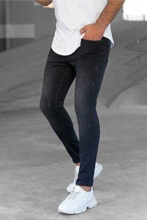 Madmext Siyah Slim Fit Erkek Jean 9407 0