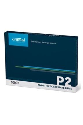 Crucial P2 Ct500p2ssd8 500 Gb 2300-940 Mb/s Nvme Pcıe M.2 Ssd 3