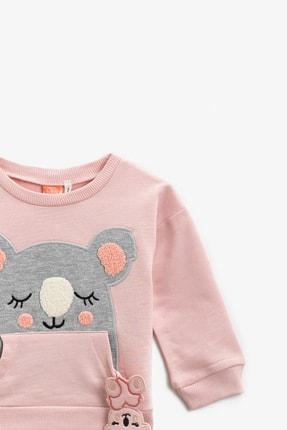 Koton Pembe Kız Bebek Sweatshirt 2