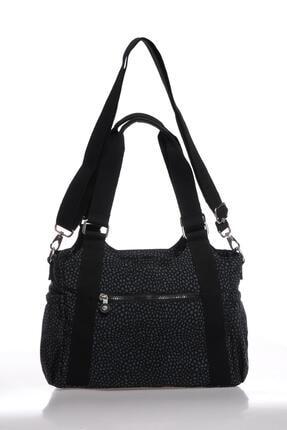 Smart Bags Kadın Siyah Puantiyeli Omuz Çantası Smbk1163-0091 2