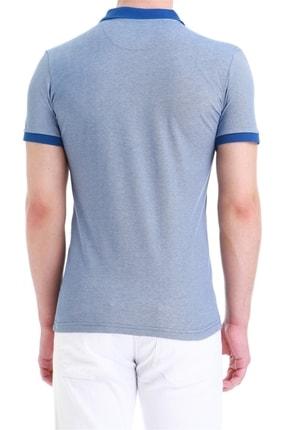 Efor Erkek Koyu Mavi Slim Fit Spor T-shirt Ts 728 2