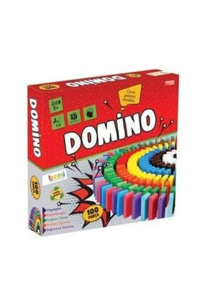 BEMİ Eğitici Oyun Domino 100 Parça 1