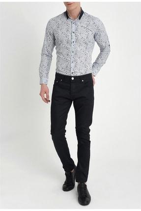 Efor Erkek Lacivert Slim Fit Kanvas Pantolon 036 0