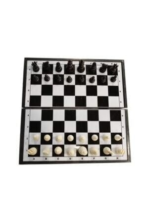 BEMİ Manyetik 3lü Oyun Seti (Tavla, Satranç, Dama) 2