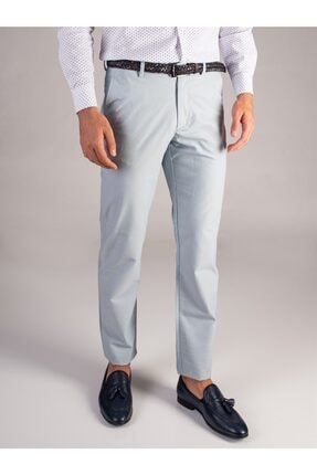 Dufy Mınt Armür Oxford Erkek Pantolon - Regular Fıt 0