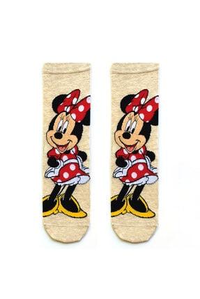 Socks Stations Unisex Renkli 5'li Mickey ve Minnie Mouse Çorap Kutusu 4