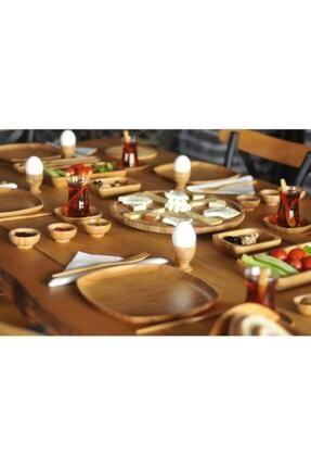 Bambum Kahverengi 57 Parça Kahvaltı Seti 1
