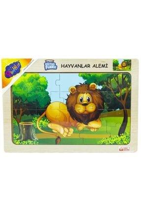 ONYIL Ahşap Hayvanlar Alemi Puzzle 2