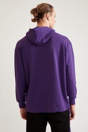 Defacto Nba Lisanslı Oversize Unisex Kapüşonlu Sweatshirt 3