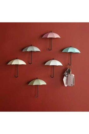 Şemsiye Anahtarlık Askı Seti 6'lı Askı Takımı ARR01