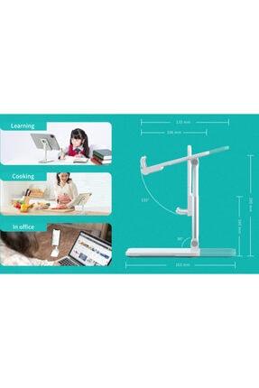 Premium Ticaret Portatif Ayarlanabilir Katlanır Telefon Ve Tablet Masaüstü Standı Tutucu 2