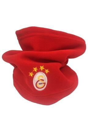 Galatasaray Unisex Kırımızı Polar Boyunluk Bere 0