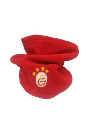 Galatasaray Unisex Kırımızı Polar Boyunluk Bere 4