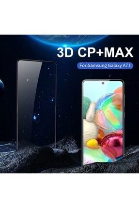 Ally Mobile Sm Galaxy A71 3d Full Kaplama Kırılmaz Tempered Cam Ekran Koruyucu Siyah 1