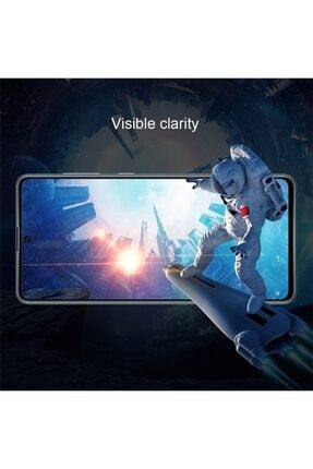 Ally Mobile Sm Galaxy A71 3d Full Kaplama Kırılmaz Tempered Cam Ekran Koruyucu Siyah 4