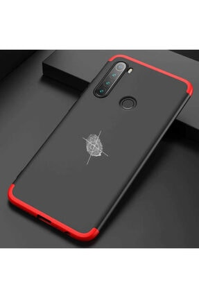 Dijimedia Xiaomi Redmi Note 8 Kılıf 360 Derece Tam Koruma Gkk 3 In1 Sert 1