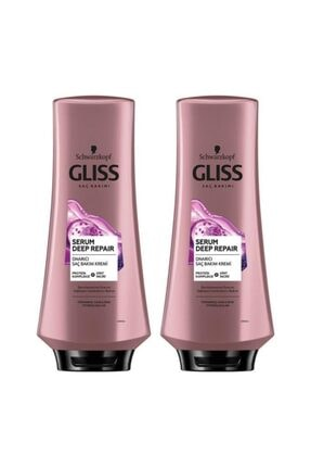 Gliss Serum Deep Repaır Saç Kremi 360 ml X 2 Adet 0