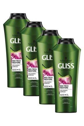 Gliss Bio-Tech Güçlendirici Şampuan 360 ML 4'lü 0