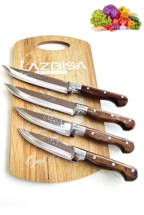 LAZBİSA Sürmene Mutfak Bıçak Seti Et Ekmek Sebze Meyve Bıçak 0