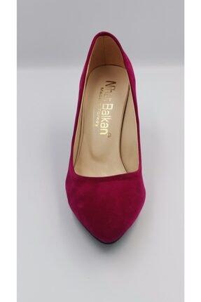 Kadın Stiletto Ayakkabı Fuşya 7 Cm Topuklu FUŞYA STİLETTO