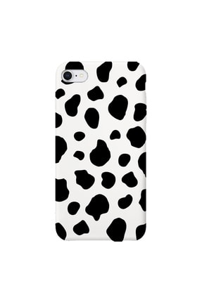 shoptocase Iphone 7 Beyaz Lansman Dalmaçyalı Desenli Telefon Kılıfı 0