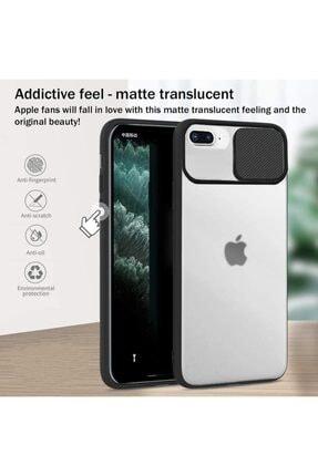Cimricik Iphone 6 Plus 6s Plus Uyumlu Sürgülü Kamera Korumalı Silikon Kılıf 2