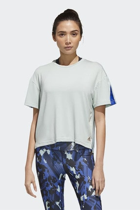 adidas Kadın Beyaz Günlük Giyim T-shirt W U-4-u Tee Gg3419 0
