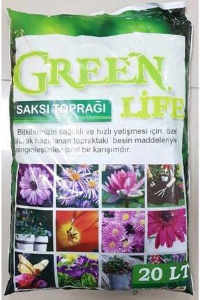 Green Life Humus Katkılı Harika Bitki Toprağı Çiçek Toprağı Torf 20 lt 0